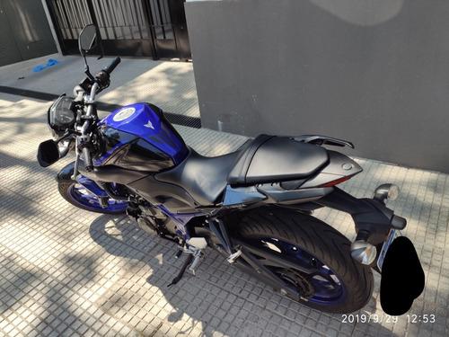 moto yamaha mt 03 mt-03 2017