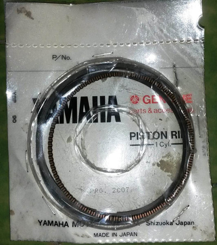 moto yamaha original aros piston ring xtz 750  3ld-11610-00
