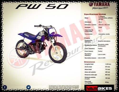 moto yamaha pw 50 - mar del plata - mejor precio contado