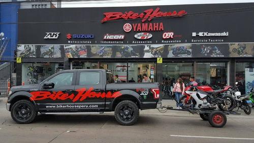moto yamaha r15 version 3.0 vive la experiencia biker house