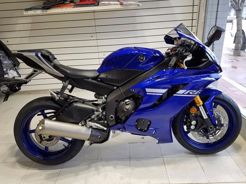moto yamaha r6 2017 0km azul