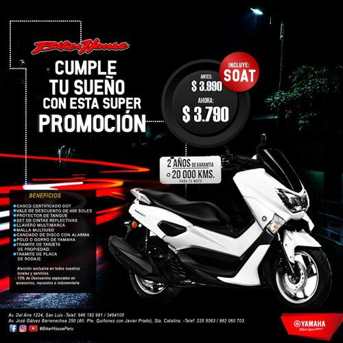 moto yamaha scooter n max soat gratis solo noviembre