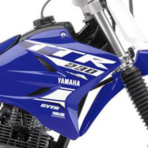 moto yamaha ttr 230 t 0km 2018 azul