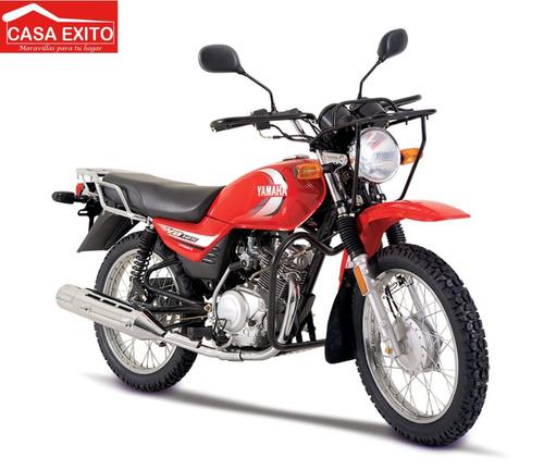 moto yamaha yb125 125cc año 2020 color rojo/ negro/ azul
