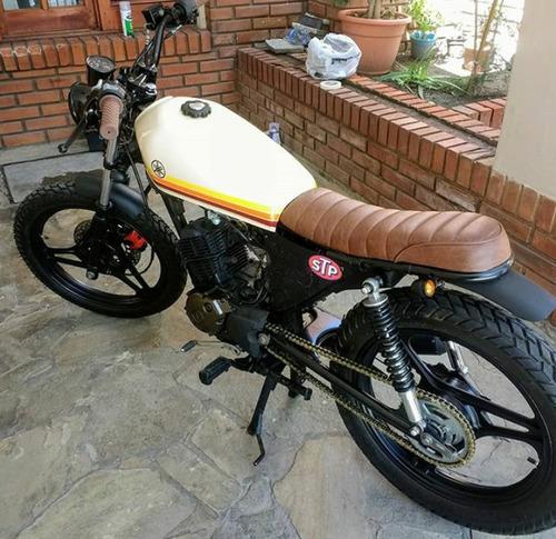 moto yamaha ybr 125 cafe racer