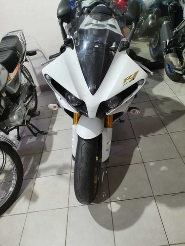 moto yamaha yzf-r1 2012 impecable blanco unico 2012
