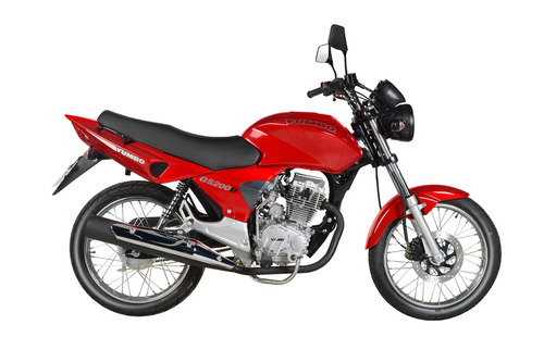 moto yumbo gs 200 il led - mercado pago 12 cuotas