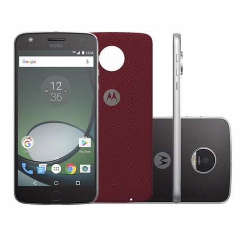 moto z play + mods style shell + temp.liquido de regalo