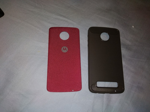 moto z play + snaps (sound booster e power pack) + capa