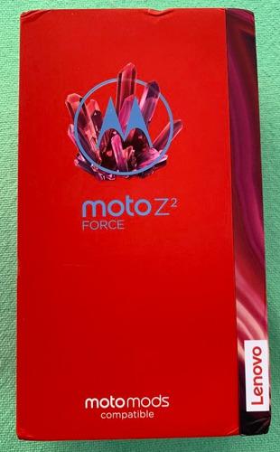 moto z2 force 64gb celular con pantalla inastillable