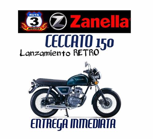 moto zanella ceccato 150 0km 2018