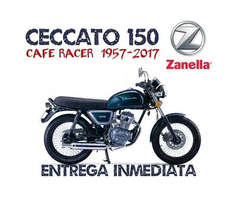 moto zanella ceccato 150 cafe racer retro 0km 2017