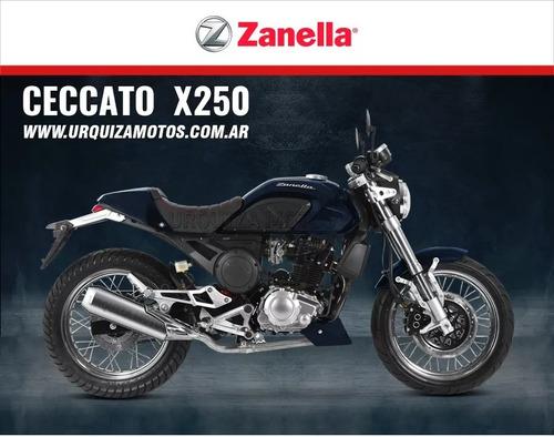 moto zanella ceccato x250 0km cafe racer urquiza motos 2018
