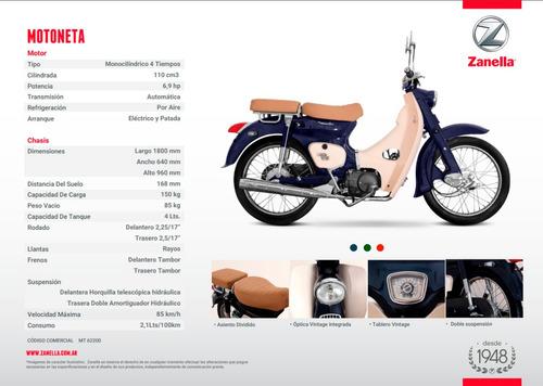 moto zanella modelo