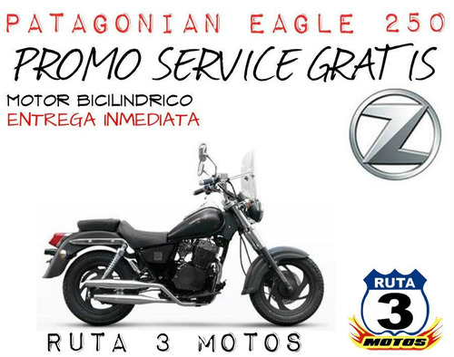 moto zanella patagonian eagle 250 0km 2019