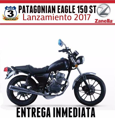 moto zanella patagonian eagle st 150 0 km 2018