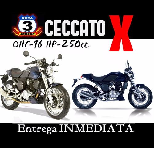 moto zanella retro ceccato x 250 2018 0km entrega inmediata