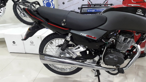 moto zanella rx 150 g3 base 2018 street 0km urquiza motos