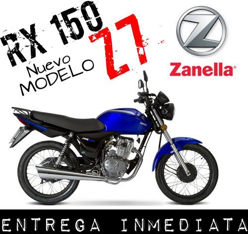 moto zanella rx 150 z7 0km 2018