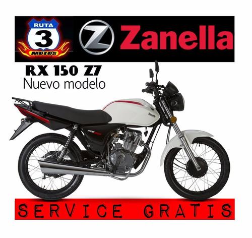 moto zanella rx 150 z7 0km 2019