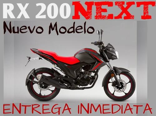 moto zanella rx 200 next 2018  0km