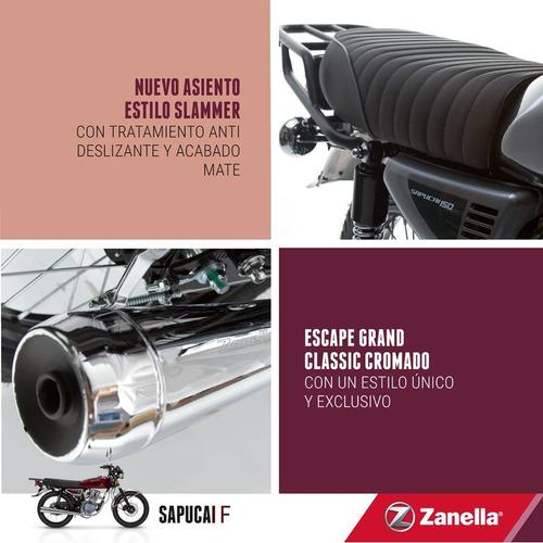 moto zanella sapucai 150 full 0km 2018