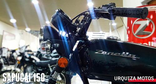 moto zanella sapucai 150 tracker nuevo 0km urquiza motos