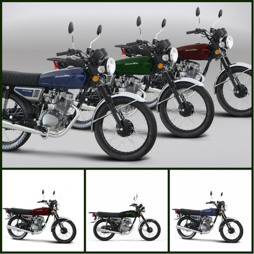 moto zanella sapucai 150 vintage 0km 2017