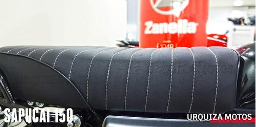 moto zanella sapucai 150f 150 f disco cafe racer 0km 2018