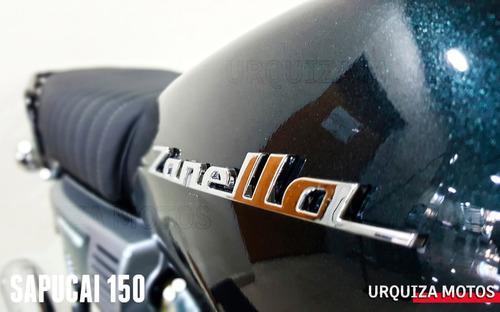 moto zanella sapucai f 150  estilo cafe racer  0km