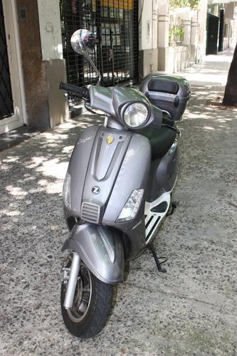 moto zanella styler 125 exclusive 2014 buen estado