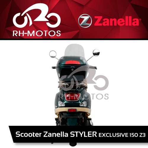 moto zanella styler scooter exclusive 150 z3