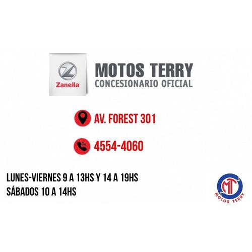moto zanella tricargo 110 0km, utilitario cyber monday