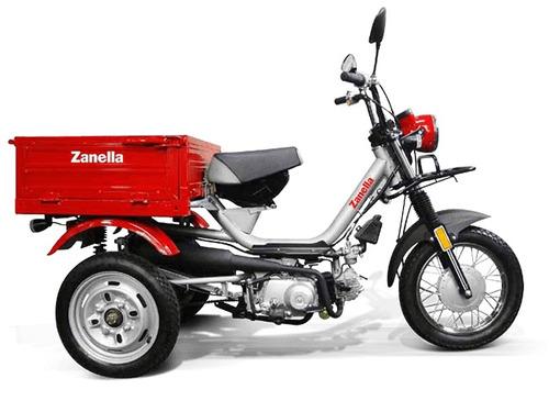 moto zanella tricargo 110, utilitario, trabajo