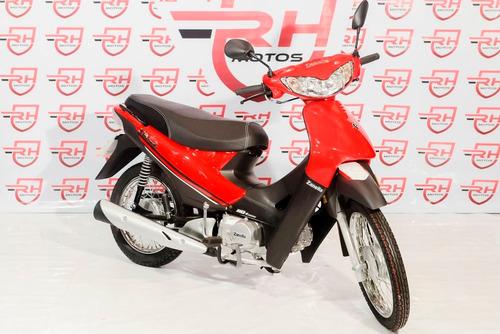 moto zanella zb 110 cc automatica  cubs casco regalo
