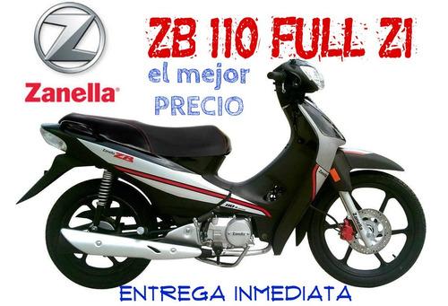 moto zanella zb 110 full z1 0km 2019