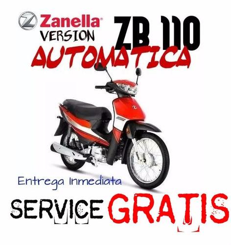 moto zanella zb 110 z1 automatica 0km 2017