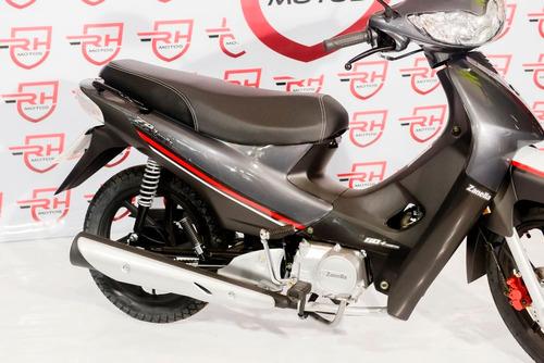 moto zanella zb 110 z1 cc full electrico cubs casco regalo