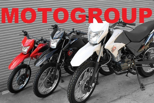 moto zanella zr 150 0km 2017 - enduro cross xr xtz skua