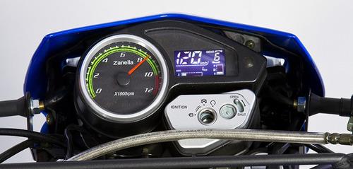 moto zanella zr 200 ohc 17 hp usb tablero digital enduro 0km