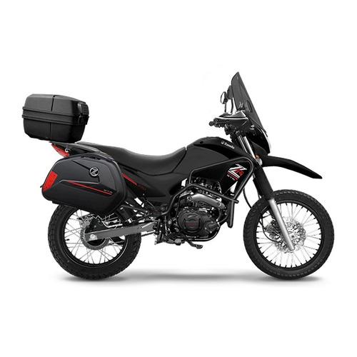 moto zanella zr 250 gta baul y valijas laterales 0km
