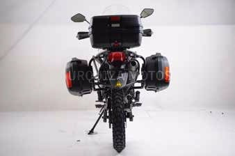 moto zanella zr 250 gta con baul y valijas laterales 0km