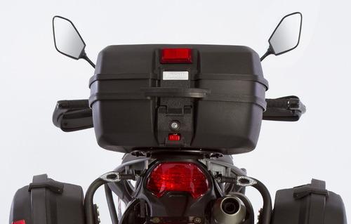 moto zanella zr 250 gta con baul y valijas negra 0km