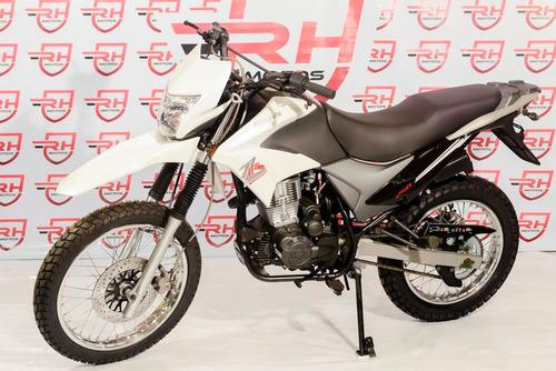 moto zanella zr 250 lt cc freno disco enduro calle