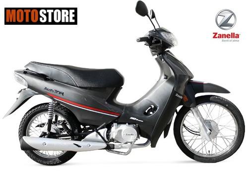 moto zb 110cc con arranque electrico zanella 0km 2017