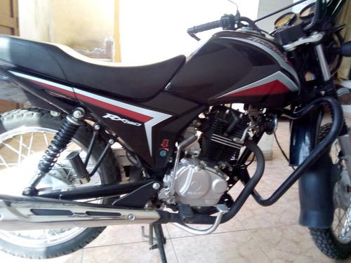 moto zongshen rx150 negra chacarera
