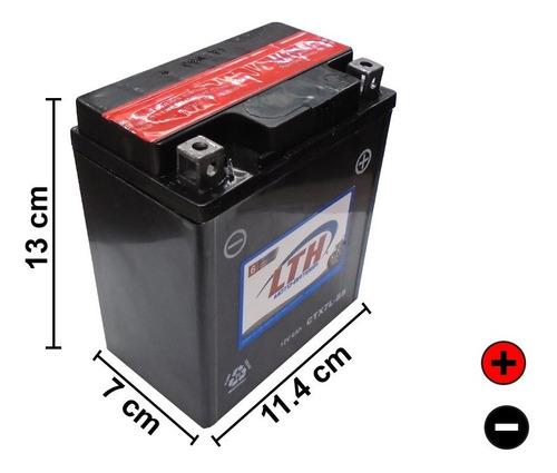 motobateria de gel lth 12v 6amp agm