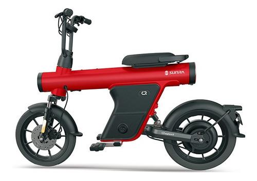 moto/bici eléctrica sunra, plan gob 16% - viñolo /e