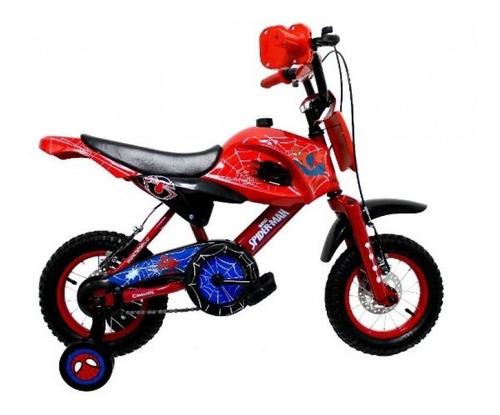 motobike aro 12 spiderman