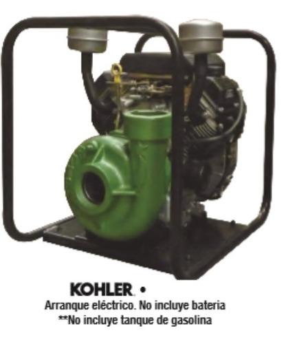 motobomba 3x3 centrifuga 18 hp kholer